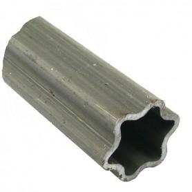 Tube Profil Etoile 6 Pointes 61mm